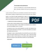 ESTRATEGIA DE PLAZA Y PROMOCION