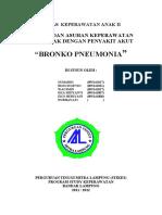 3. BRONKHOPNEUMONIA