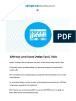 100 Next-Level Sound Design Tips & Tricks - EDMProd.pdf