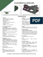 Catálogo (PROSPECTO DE BOMBAS EHF)