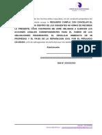 MODELO CARTA NOTARIAL - PAGO DE ALQUILER O DESALOJO 2