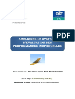 AMELIORER LE SYSTEME D'EVALUATION DES PERFORMANCES INDIVIDUELLES