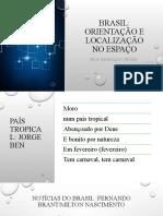 Brasil - orientação e localização no espaço