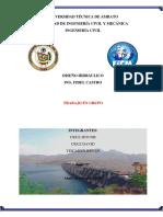 Normativa y cobertura de Agua provincia de Chimborazo