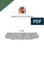 Informe Tribunal Cuentas sobre la fiscalidad de la Iglesia