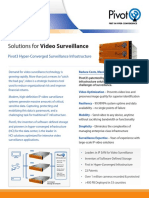 Pivot3 Video Surveillance Solution Brief