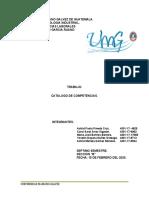 Catalogo de Competecias