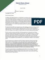 Senators Press USDA On Hemp Issues