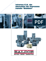 motor baldor data sheet español