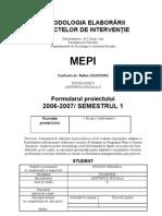 Formular MEPI Mita