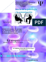 Importancia de la psicologia en la comunicación Lcda ARANTXA MORENO