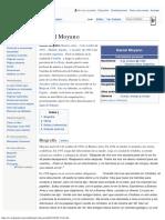 Daniel Moyano - Biografía
