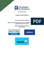 Caso Waze vs Nokia - Modelos de Negocios
