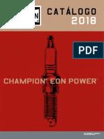 Catálogo de bujias Champion 2018 EON Power