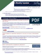 EdUSA+Weekly+Update+No+213+ +10+JAN+2011