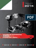 Catalogo Beru Ignicion Fuel injection y Electrico 2015