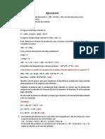Ejercicios BERTRAND-COURNOT