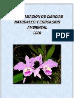 Ciencias naturales 2020