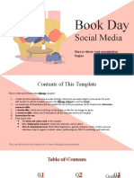 Book Day Social Media by Slidesgo