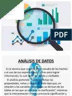 11.2 ANÁLISIS DE DATOS