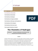 The Chemistry of Hydrogen