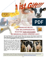 Milch ist Gift!