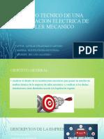 ESTUDIO TECNICO DE UNA INSTALACION ELECTRICA DE UN.pptx