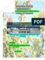 AGED 305 - TermPAper in Institutional Evaluation in Agrotech School (fINAL)