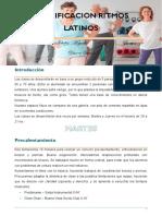 PLANIFICACIÓN RITMOS LATINOS - clase 1 y 2