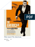 Film report The American