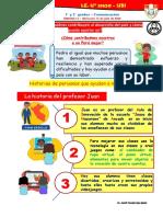 1 y 2° GRADO - S 15_ miercoles  - Quienes contribuyen al Perú