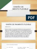 DISEÑO DE PAVIMENTO FLEXIBLE 2