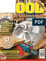 Wood Magazine. Dec 2010 - Jan 2011