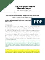 PROTOCOLO DE BIOSEGURIDAD- SEDE_ GRACIELA JIMENEZ DE BUSTAMANTE