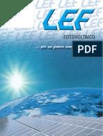 Catalogo Fotovoltaico LEF