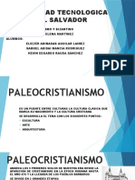 BIZANTINO Y PALEOCRISTIANISMO GRUPO 1
