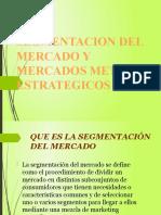 CAPÍTULO 3 SEGMENTACIÓN DEL MERCADO Y MERCADOS META ESTRATÉGICOS