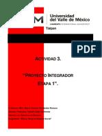 , Act 3 Proyecto integrador Etapa 1 -ZCFT