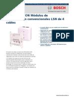 Modulo Zonas Convencionales FLM4204CONConve_DataSheet_esES_T
