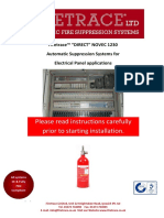 Firetrace Direct Novec 1230 systems Electrical panels Installation Issue 5 290414.pdf