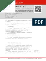 Decreto-con Fuerza de Ley- Ley de Tránsito de Chile