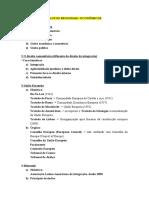 BLOCOS REGIONAIS E BRICS