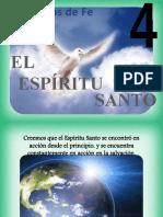 Principio Nº 04 - Dios, El Espíritu Santo