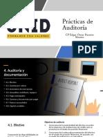 4. Auditoría y Documentación