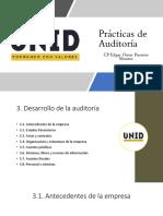 3. Desarrollo de la Auditoria