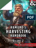 Drifters Game Workshop - Hamund's Harvesting Handbook 2 v1.0