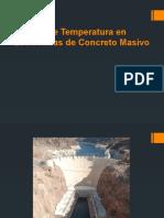 Control de Temperatura en Estructuras de Concreto Masivo II