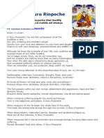 Prayer to Guru Rinpoche