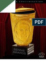 Bennies Nominees - Worst Reality Program