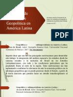 Geopolítica en América Latina